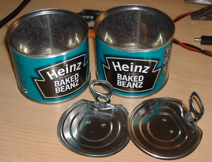 You are browsing images from the article: Baked bean cans