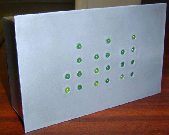 You are browsing images from the article: Binary clock