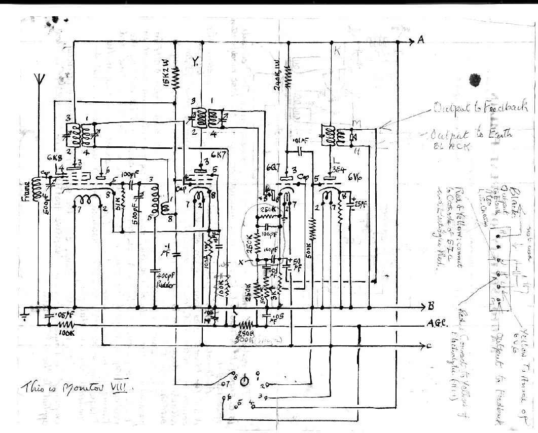 You are browsing images from the article: Dad's radio circuits