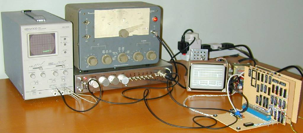 You are browsing images from the article: Spectrum analyser Mk2