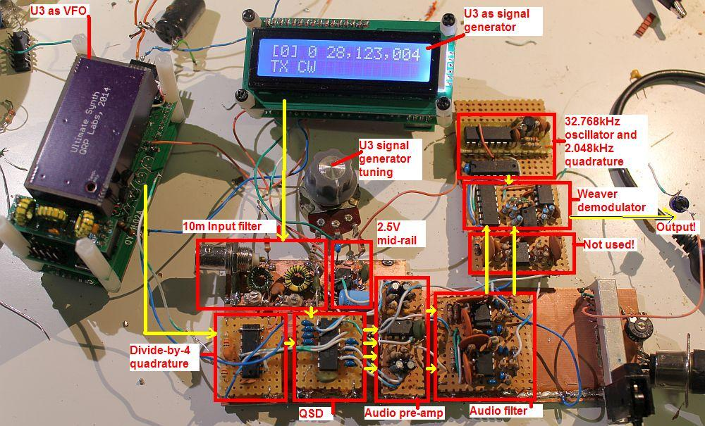 You are browsing images from the article: 10m SSB receiver
